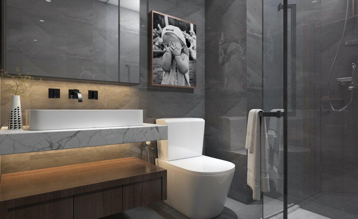 Les objets indispensables pour une belle décoration de toilettes :