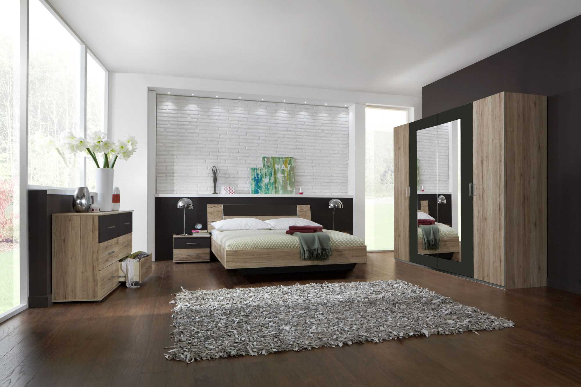 comment am nager une chambre coucher moderne. Black Bedroom Furniture Sets. Home Design Ideas